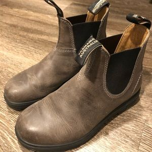 Charcoal Brown Blundstone Chelsea Boots